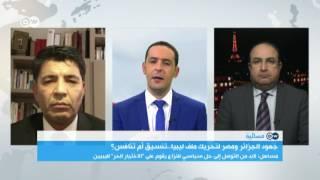 وساطة جزائرية لحل الصراع السياسي في ليبيا