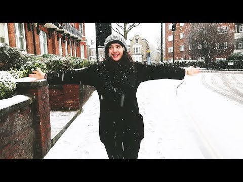 SNOW DAY! Winter weekend in London ❄️