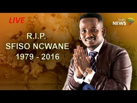 Funeral service of Sfiso Ncwane, 10 December 2016