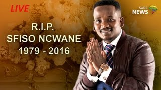 Funeral service of Sfiso Ncwane, 10 December 2016