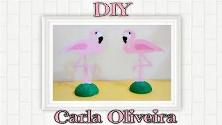 Baixar FESTA EM CASA 'Flamingo Party' - DIY Enfeite de Mesa Flamingo por Carla Oliveira