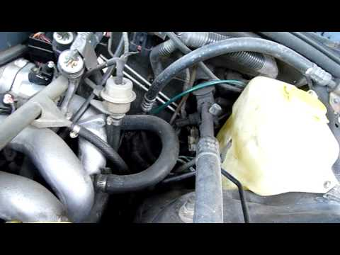 1993 Ford Fairmont EB Bad Idle Fix (Throttle body and IAC Clean)