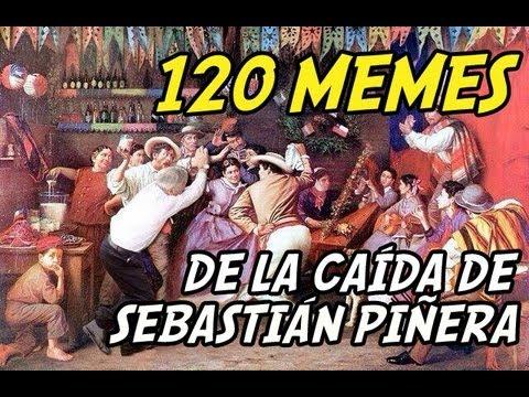 120 memes (montajes) de la caída de Sebastián Piñera