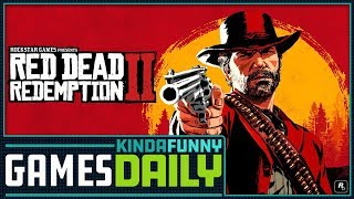 Red Dead Redemption 2 Previews Are Out! - Kinda Funny Games Daily 09.20.18