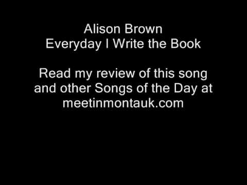 David Broza - Every Day I Write the Book Lyrics