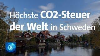 Zahlen fürs Klima: 115 Euro kostet in Schweden eine Tonne CO2
