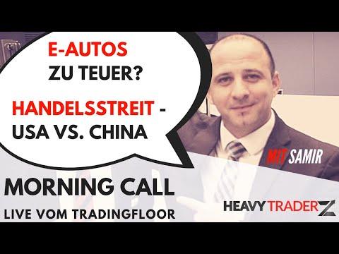 Morning Call 21.01.2019: Chinas Wirtschaft - E-Autos zu teuer - Handelsstreit China und USA