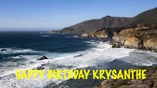 Krysanthe   Beaches Playas - Happy Birthday