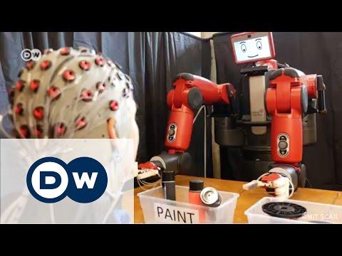 Beyin gücüyle kontrol edilebilen robot - DW Türkçe