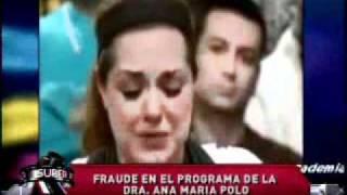 SuperXclusivo 9/29/11 - Fraude en el programa de la Dra. Ana María Polo