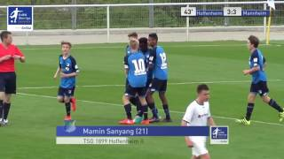 EnBW-Oberliga C-Junioren: TSG 1899 Hoffenheim 2 vs. SV Waldhof Mannheim