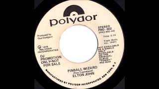 Elton John Pinball Wizard promo single