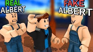 He stole my ROBLOX IDENTITY and TRICKED FANS