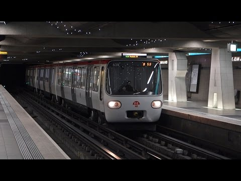 Métro de Lyon - 4 lignes - 4 stations