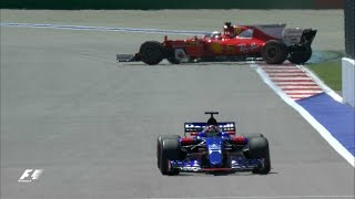 2017 Russian Grand Prix: FP1 Highlights