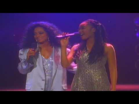 Diana Ross & Brandy - Love Is All That Matters (Full Screen)