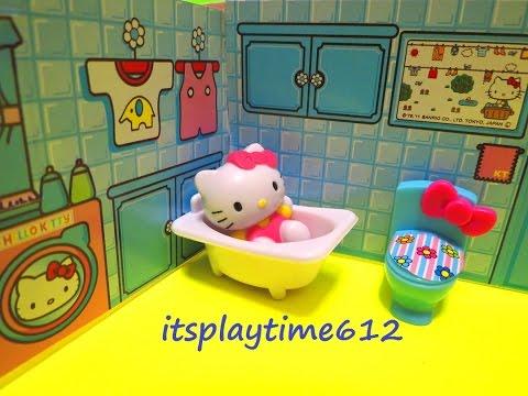HELLO KITTY MINI PLAYHOUSE Toys Review | itsplaytime612
