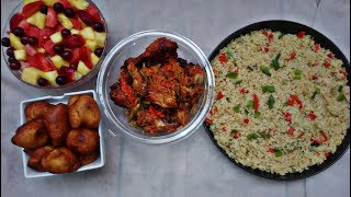 Special Nigerian lunch recipe | Sunday meal idea | Cook with me.