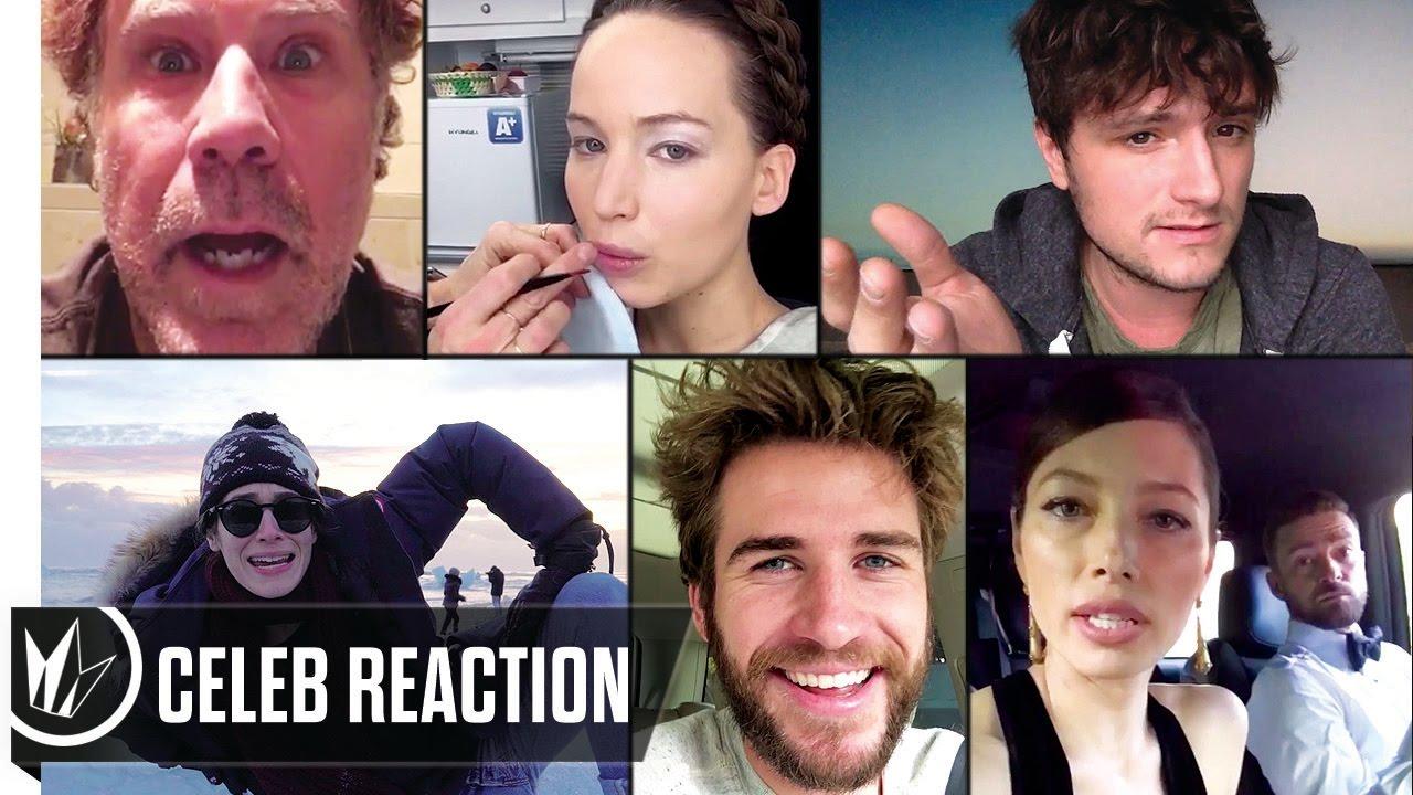 Download Lost in London - Celeb Reactions (Jennifer Lawrence, Liam Hemsworth, Josh Hutcherson)