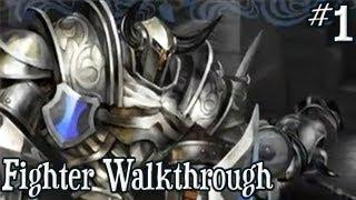 Dragon's Crown: Fighter Walkthrough Gameplay (PS3/PSVITA) | Part 1 - Starting the Adventure