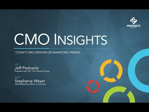 CMO Insights: Stephanie Meyer, CMO, Connecture