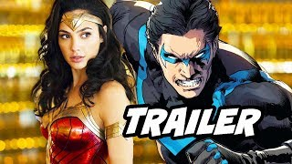 Titans Wonder Woman Donna Troy Trailer - Nightwing Origin Scene Explained