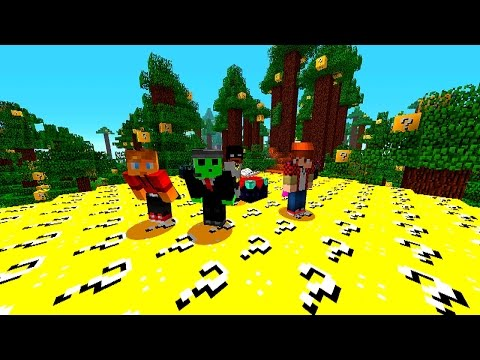 Minecraft Lucky Block Battle Arena #5 with Mitch, Lachlan, P