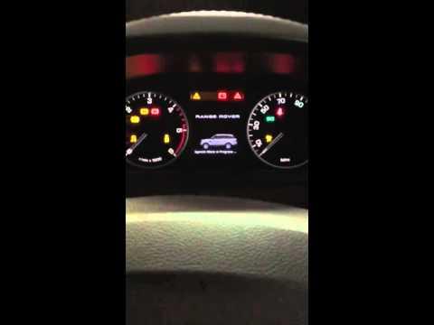RANGE ROVER SPORT 2012 check oil level - YouTube
