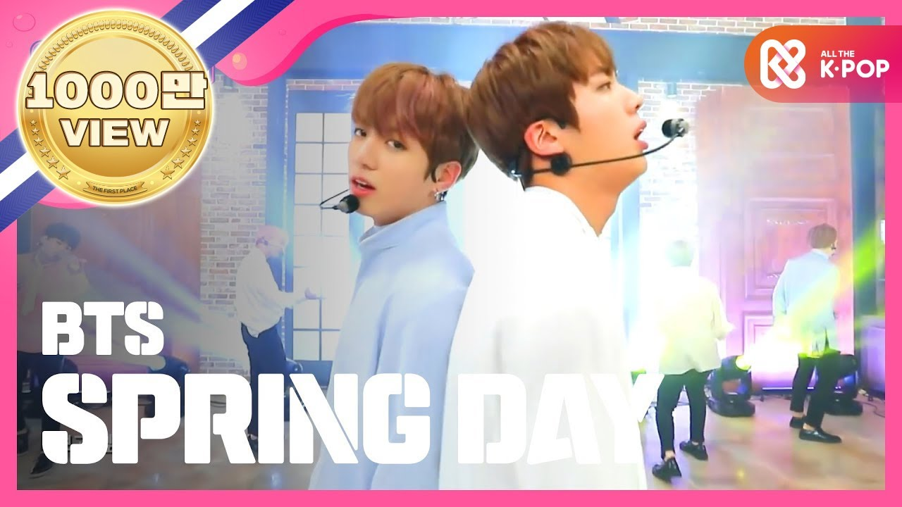 Show Champion EP 219 BTS - Spring Day