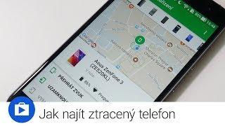 Jak najít ztracený telefon (Top Apps)