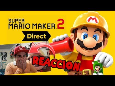 Reacción a Directo de Super Mario Maker 2 (15/05/2019) | AJota GameHouse