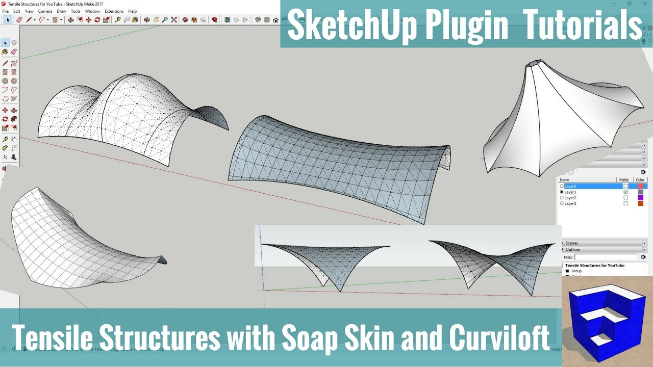 Tutorial sketchup create house model in 130 hour youtube, sample.