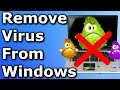 How to remove virus from Windows PC [Free] ✔