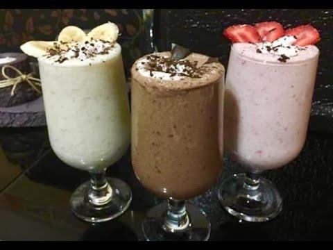 ÇİLEKLİ MİLKSHAKE TARİFİ🍓4 DAKİKADA HAZIR😍 Evde Milkshake Nasıl Yapılır?