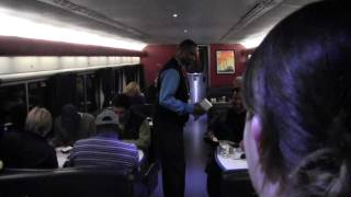 Tour of Amtrak Texas Eagle Heading to Dining Car