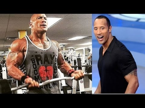 2017 - The Rock How it - change the Body on 20 Years ...