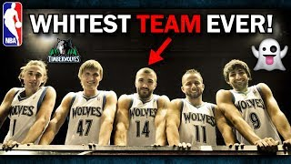 Meet The WHITEST NBA Team of All-Time! (12-13 T-Wolves)