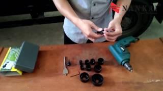 Cara Penggunaan HoleSaw Kit 13pc