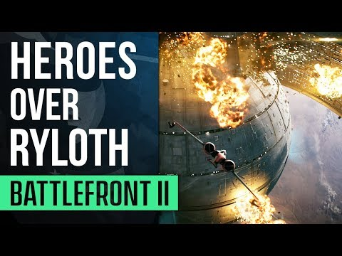 HEROES OVER RYLOTH | Star Wars Battlefront II (Starfighter Assault) Gameplay