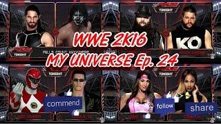 WWE 2K16 Universe Mode - Ep. 24