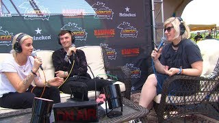 Baixar Kat Corbett talks with PVRIS at the KROQ Coachella House