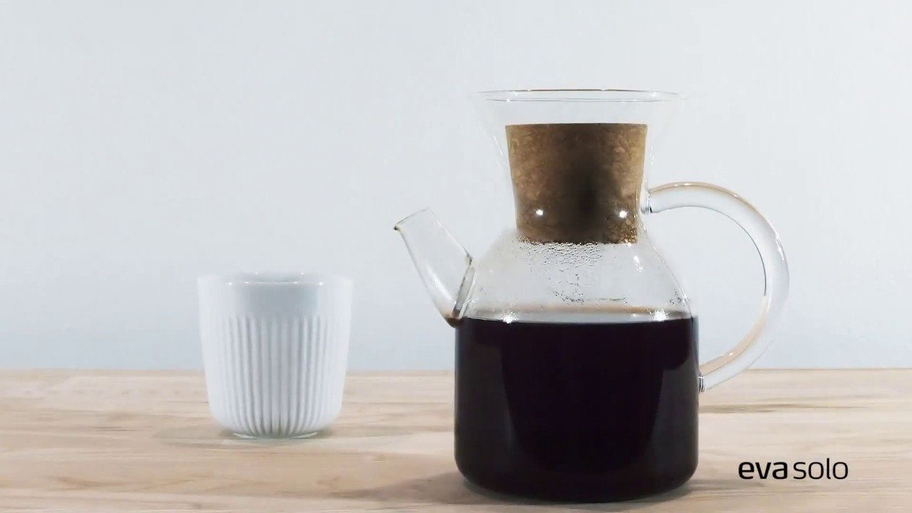 pour over coffee maker eva solo youtube. Black Bedroom Furniture Sets. Home Design Ideas
