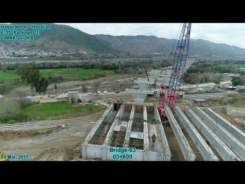 CPEC, Haripur Hazara to Havalian Motorway progress dated 03 Mar, 2017