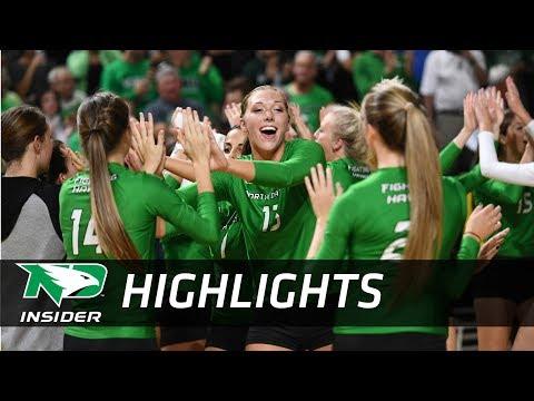UND Volleyball - Highlights: UND vs. NDSU - 9/6/17