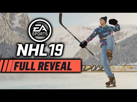 NHL 19 | Official Reveal Trailer Reaction | NEW ONES MODE, OUTDOOR HOCKEY, POND TO PROS, LEGENDS