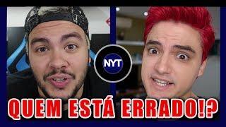 POLÊMICA! Felipe Neto vs Luccas Neto - QUEM ESTÁ CERTO!? - Exclusivo