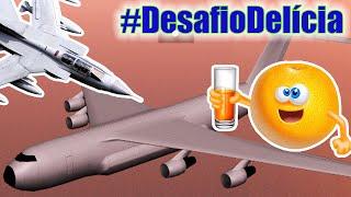 SALTANDO DO HYDRA PARA O ANDROMADA EM MOVIMENTO - #DesafioDelícia (GTA San Andreas)