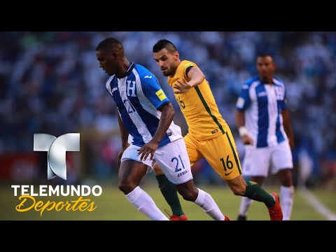 Honduras lamenta condiciones del terreno de juego ante Australia | Rumbo al Mundial 2018 | Telemundo
