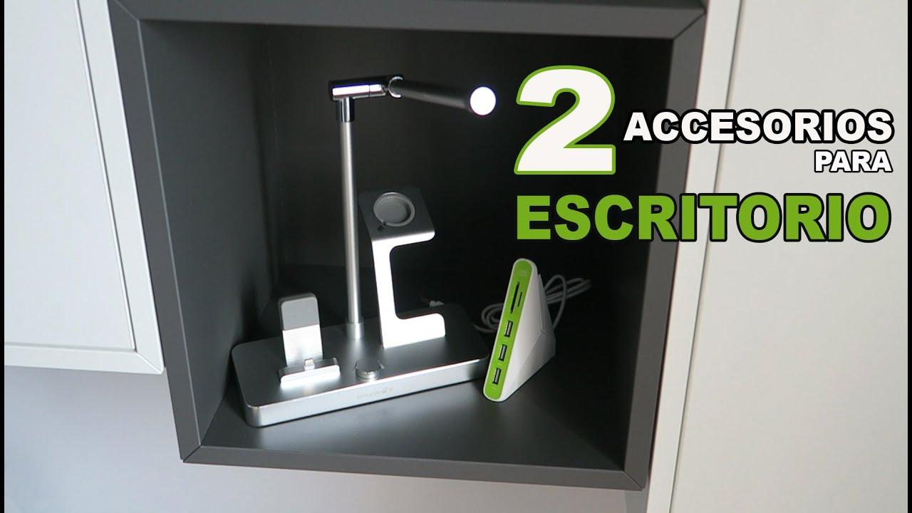 2 accesorios para tu escritorio youtube - Accesorios para escritorio ...