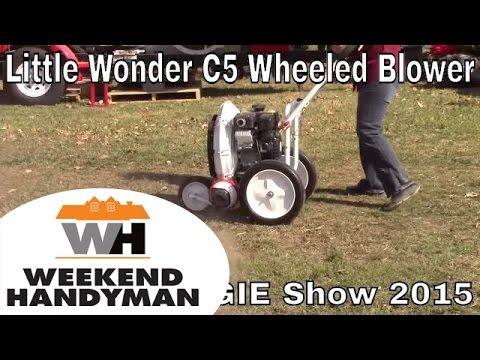 Little Wonder C5 Power Walk Behind Blower   Weekend Handyman   #LittleWonder